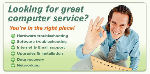 We can help with computer repair